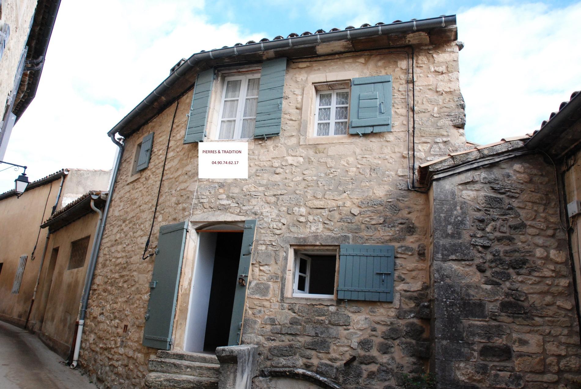 Vente maison/villa 2 pièces lacoste 84480
